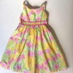 Lilly Pulitzer Girls Dress, Elephant Print Sz 8